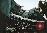 Image of blown railroad track Germany, 1945, second 44 stock footage video 65675063557