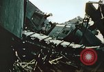 Image of blown railroad track Germany, 1945, second 45 stock footage video 65675063557