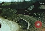 Image of blown railroad track Germany, 1945, second 52 stock footage video 65675063557