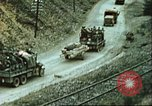 Image of blown railroad track Germany, 1945, second 53 stock footage video 65675063557