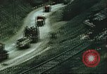 Image of blown railroad track Germany, 1945, second 55 stock footage video 65675063557