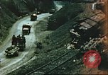 Image of blown railroad track Germany, 1945, second 56 stock footage video 65675063557