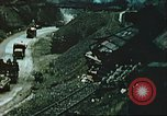 Image of blown railroad track Germany, 1945, second 57 stock footage video 65675063557