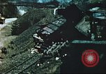 Image of blown railroad track Germany, 1945, second 59 stock footage video 65675063557