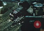 Image of blown railroad track Germany, 1945, second 60 stock footage video 65675063557