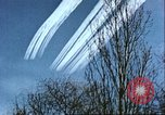 Image of P-47 Thunderbolt contrails over Germany Germany, 1945, second 44 stock footage video 65675063561