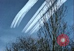 Image of P-47 Thunderbolt contrails over Germany Germany, 1945, second 45 stock footage video 65675063561
