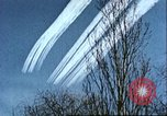 Image of P-47 Thunderbolt contrails over Germany Germany, 1945, second 46 stock footage video 65675063561