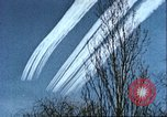 Image of P-47 Thunderbolt contrails over Germany Germany, 1945, second 47 stock footage video 65675063561