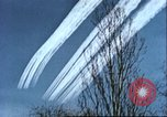 Image of P-47 Thunderbolt contrails over Germany Germany, 1945, second 48 stock footage video 65675063561