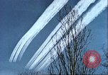 Image of P-47 Thunderbolt contrails over Germany Germany, 1945, second 49 stock footage video 65675063561