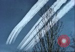 Image of P-47 Thunderbolt contrails over Germany Germany, 1945, second 50 stock footage video 65675063561