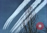 Image of P-47 Thunderbolt contrails over Germany Germany, 1945, second 51 stock footage video 65675063561