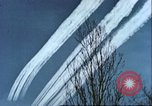 Image of P-47 Thunderbolt contrails over Germany Germany, 1945, second 52 stock footage video 65675063561