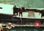 Image of German barge Germany, 1945, second 9 stock footage video 65675063563