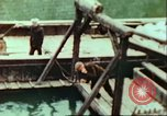 Image of German barge Germany, 1945, second 17 stock footage video 65675063563