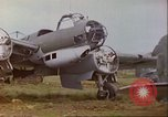 Image of wrecked German airplanes Paris France, 1945, second 8 stock footage video 65675063573