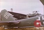 Image of wrecked German airplanes Paris France, 1945, second 13 stock footage video 65675063573