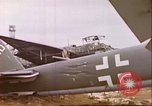 Image of wrecked German airplanes Paris France, 1945, second 14 stock footage video 65675063573