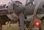Image of wrecked German airplanes Paris France, 1945, second 18 stock footage video 65675063573