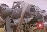 Image of wrecked German airplanes Paris France, 1945, second 20 stock footage video 65675063573