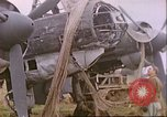 Image of wrecked German airplanes Paris France, 1945, second 22 stock footage video 65675063573