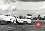 Image of 8th Fighter Air Force Command bomber escort tactics Germany, 1944, second 52 stock footage video 65675063586