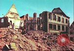Image of bomb damaged building Wurzburg Germany, 1945, second 4 stock footage video 65675063593
