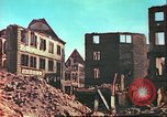 Image of bomb damaged building Wurzburg Germany, 1945, second 10 stock footage video 65675063593