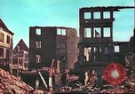 Image of bomb damaged building Wurzburg Germany, 1945, second 13 stock footage video 65675063593