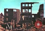 Image of bomb damaged building Wurzburg Germany, 1945, second 14 stock footage video 65675063593