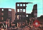 Image of bomb damaged building Wurzburg Germany, 1945, second 15 stock footage video 65675063593