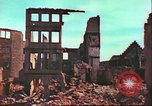 Image of bomb damaged building Wurzburg Germany, 1945, second 17 stock footage video 65675063593