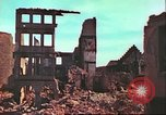 Image of bomb damaged building Wurzburg Germany, 1945, second 18 stock footage video 65675063593