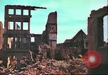 Image of bomb damaged building Wurzburg Germany, 1945, second 19 stock footage video 65675063593