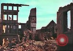 Image of bomb damaged building Wurzburg Germany, 1945, second 21 stock footage video 65675063593