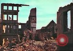 Image of bomb damaged building Wurzburg Germany, 1945, second 22 stock footage video 65675063593