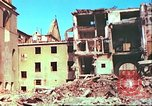 Image of bomb damaged building Wurzburg Germany, 1945, second 24 stock footage video 65675063593