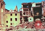 Image of bomb damaged building Wurzburg Germany, 1945, second 27 stock footage video 65675063593