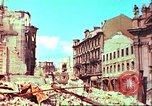 Image of bomb damaged building Wurzburg Germany, 1945, second 28 stock footage video 65675063593