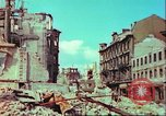 Image of bomb damaged building Wurzburg Germany, 1945, second 38 stock footage video 65675063593