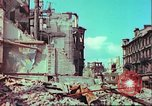Image of bomb damaged building Wurzburg Germany, 1945, second 40 stock footage video 65675063593