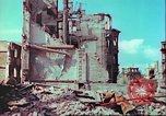 Image of bomb damaged building Wurzburg Germany, 1945, second 41 stock footage video 65675063593