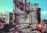 Image of bomb damaged building Wurzburg Germany, 1945, second 42 stock footage video 65675063593