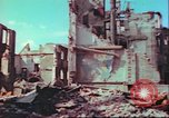 Image of bomb damaged building Wurzburg Germany, 1945, second 43 stock footage video 65675063593