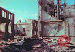 Image of bomb damaged building Wurzburg Germany, 1945, second 44 stock footage video 65675063593