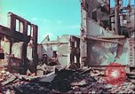 Image of bomb damaged building Wurzburg Germany, 1945, second 45 stock footage video 65675063593
