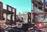 Image of bomb damaged building Wurzburg Germany, 1945, second 46 stock footage video 65675063593