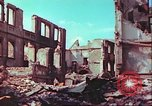 Image of bomb damaged building Wurzburg Germany, 1945, second 47 stock footage video 65675063593
