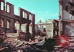 Image of bomb damaged building Wurzburg Germany, 1945, second 48 stock footage video 65675063593